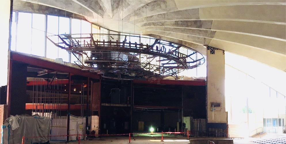Robert Frost Auditorium Under Construction