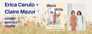 Erica Cerulo and Claire Mazur Book Signing