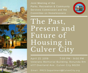The Past, Present and Future of Housing @ Veterans Memorial Building