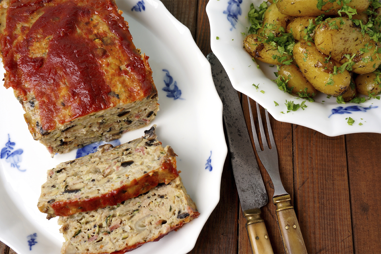 Spicy Turkey Meat Loaf