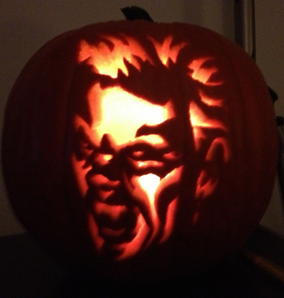 The Lost Boys Pumpkin Carving