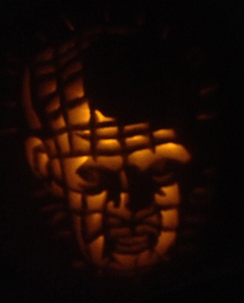 Hellraiser Pumpkin Carving