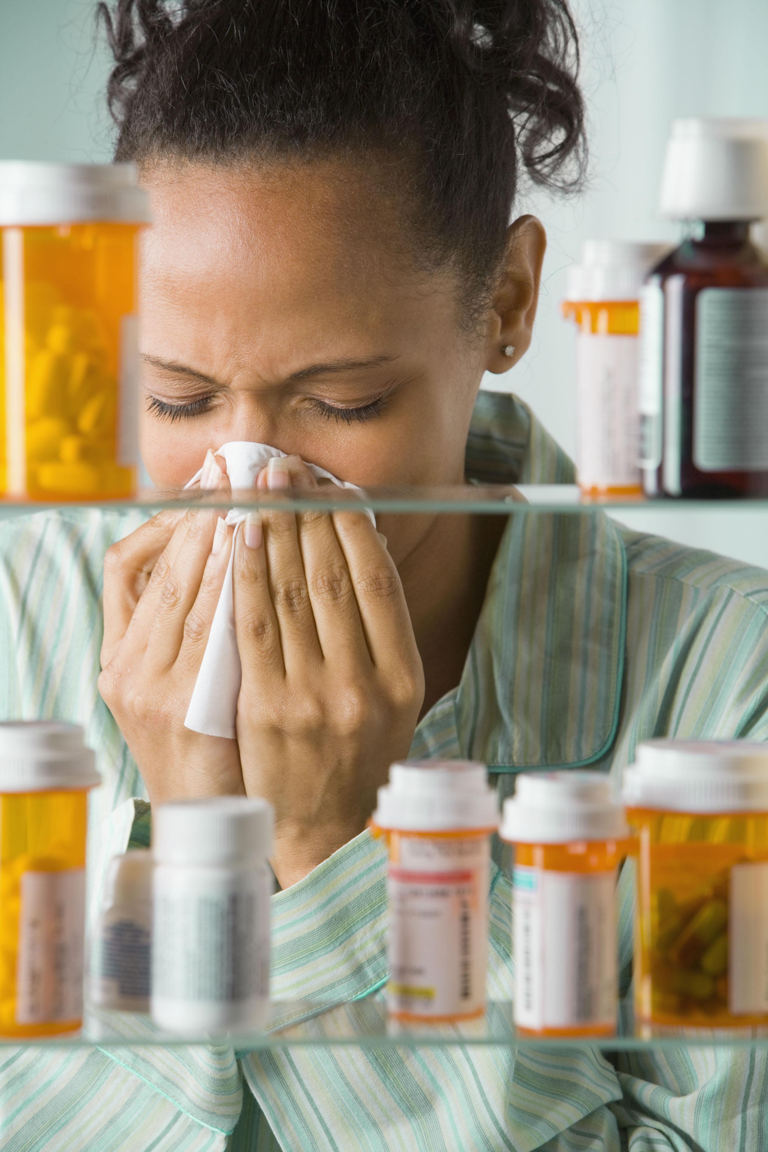 Taking Flu Meds