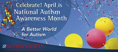 National Autism Awareness Month Banner