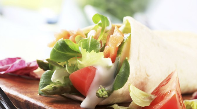 Healthy Wraps and Portable Lunches