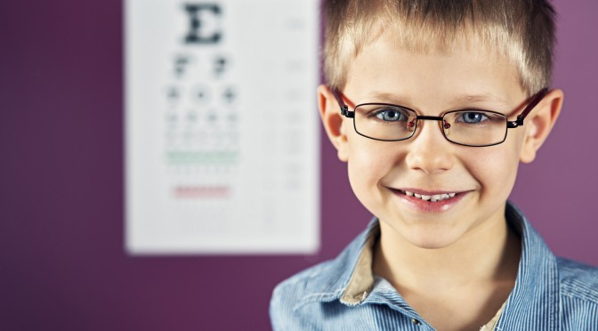 Vision Testing for Children's Eye Health and Safety Month