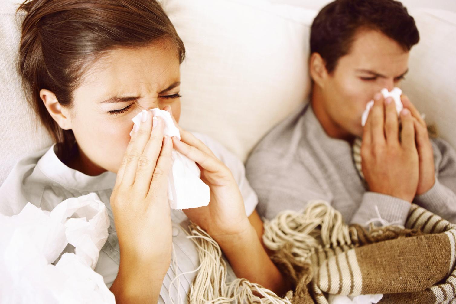 Struggling Through the Flu