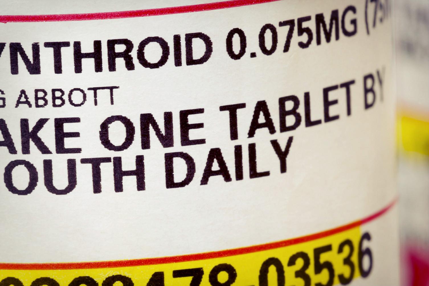 Taking Your Thyroid Meds