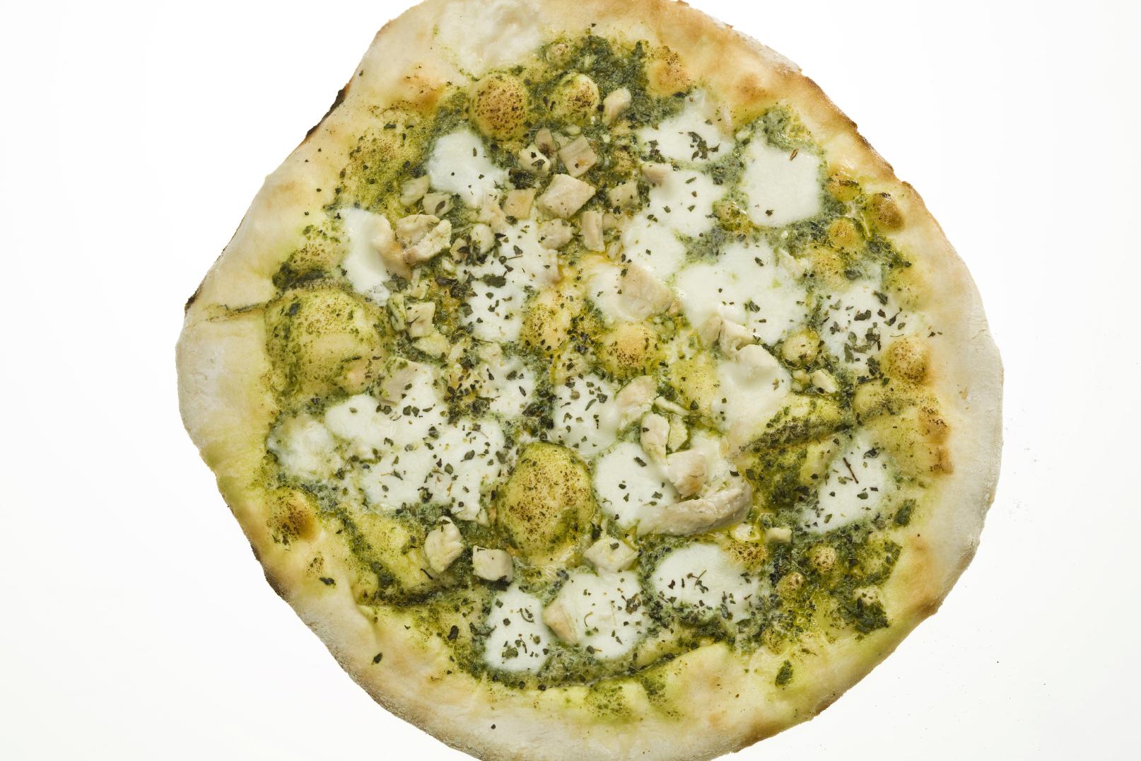 Individual White Chicken Pizzas