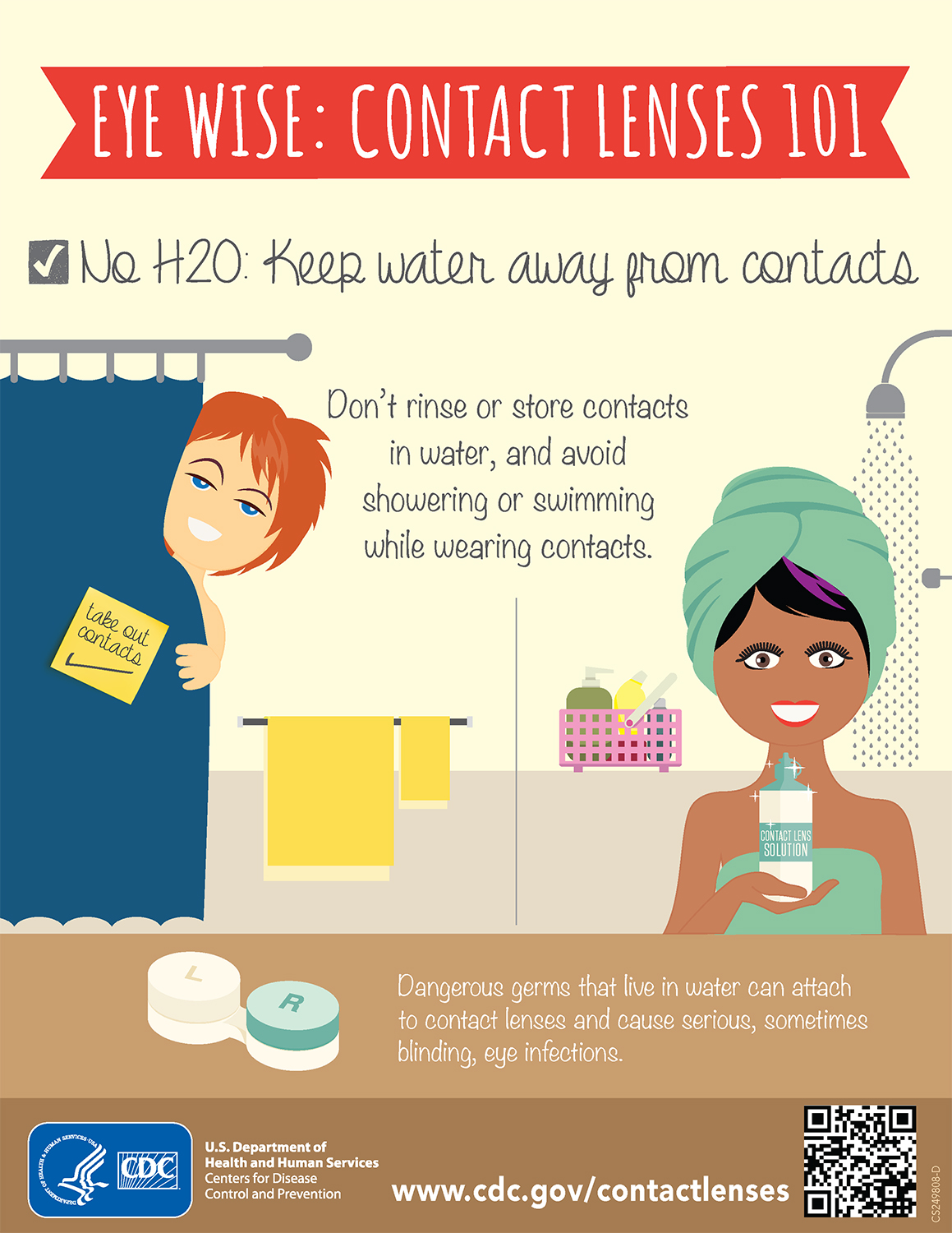Water and Your Contacts