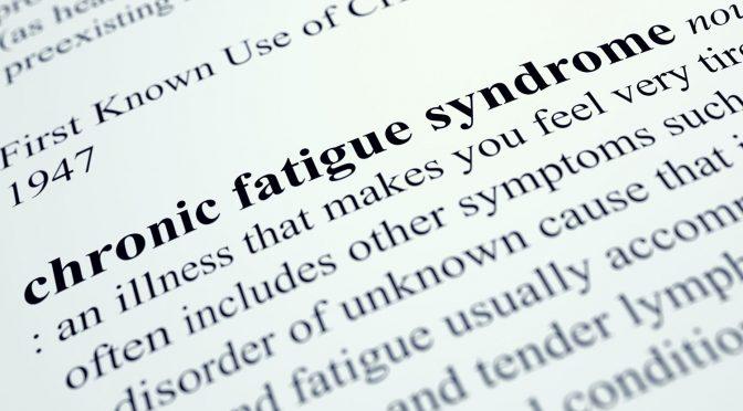 National Chronic Fatigue Syndrome Awareness Month