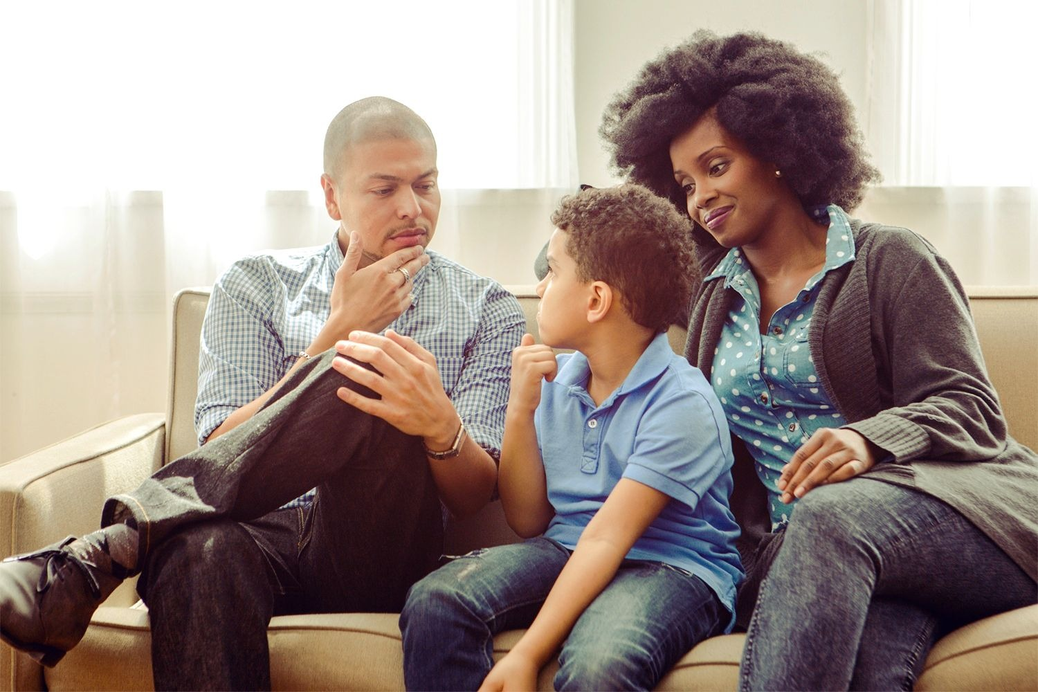 Discussing the Decision as a Family