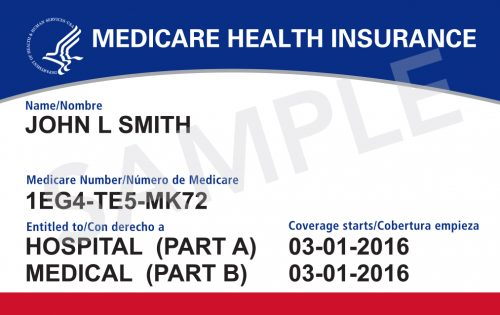 New Medicare ID Card Example