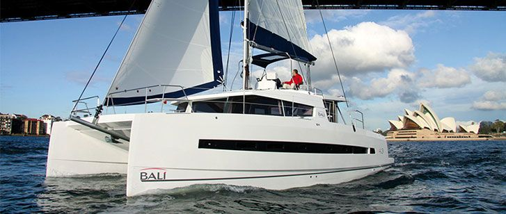 Bali 4.3 catamaran Charter Greece