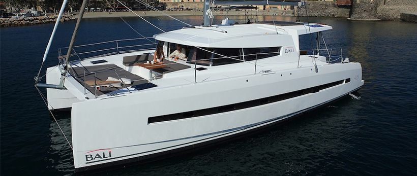 Bali 4.5 Catamaran Charter Greece future image