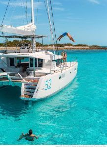 Lagoon 52 Catamaran Charter Greece