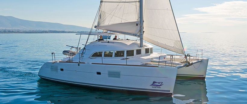 Lagoon 380 Catamaran Charter Greece