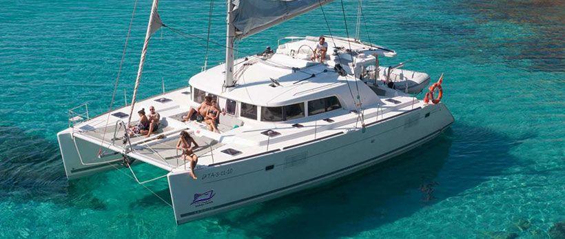 Lagoon 440 Catamaran Charter Greece