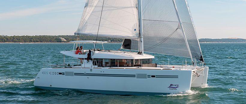 Lagoon 450 S Catamaran for Charter in Greece
