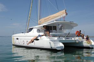Lipari 41 Catamaran Charter Greece