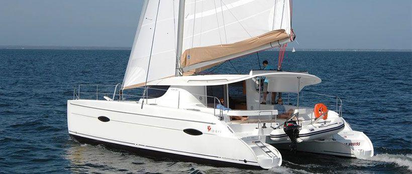 Lipari 41 Catamaran Charter Greece