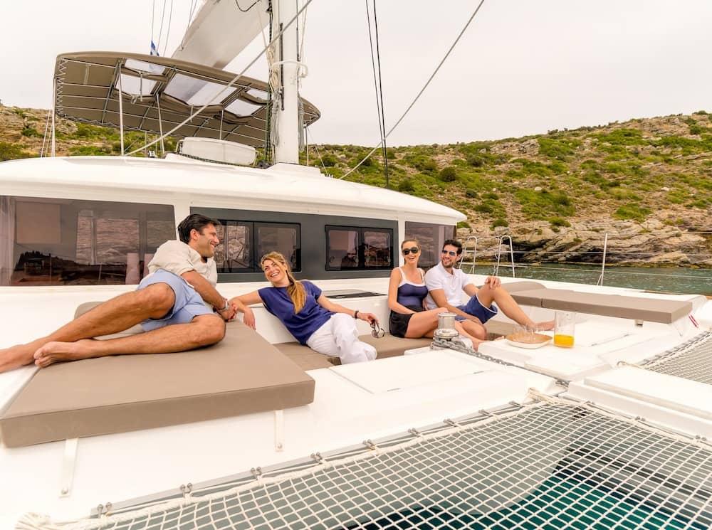 Why rent catamaran in Greece