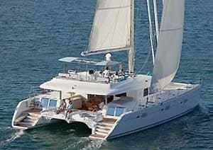 Luxury Crewed Catamarans