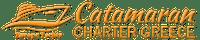 Catamarans for rent and visit Greek islands Logo