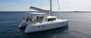 lagoon 380 S2 Catamaran Charter Greece main