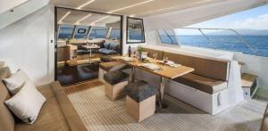 Nautitech 47 Power Catamaran Charter Greece