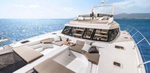Nautitech 47 Power Catamaran Charter Greece