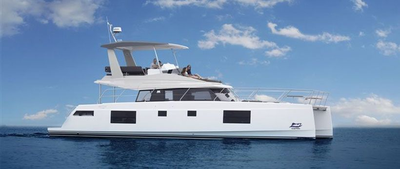 Nautitech 47 Power Catamaran Charter Greece main