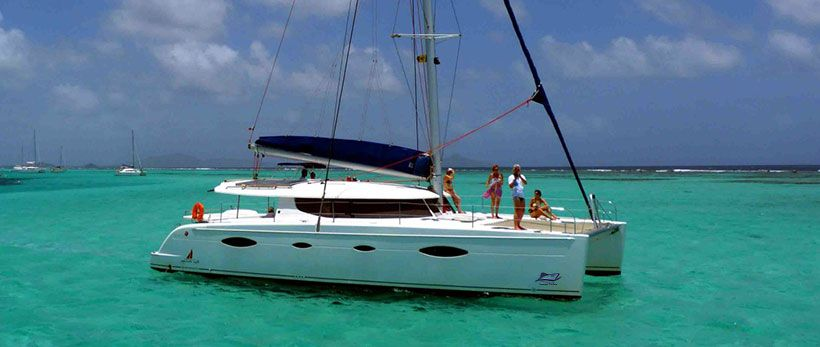 Salina 48 Catamaran Charter Greece