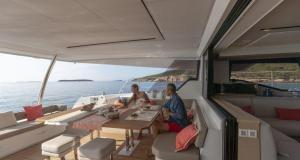 Alegria 67 Catamaran Charter Greece