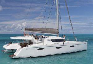 Sanya 57 Catamaran Charter Greece 1