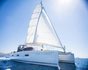 Sanya 57 Catamaran Charter Greece 12