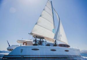 Sanya 57 Catamaran Charter Greece 16