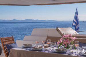 Sanya 57 Catamaran Charter Greece 4
