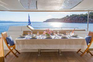 Sanya 57 Catamaran Charter Greece 5
