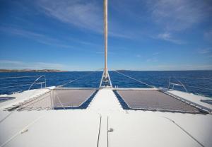 Sanya 57 Catamaran Charter Greece 6