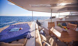 Sanya 57 Catamaran Charter Greece 8