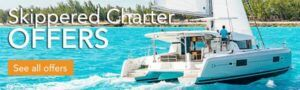 Skippered Catamaran Charter Greece New