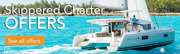 Skippered Catamaran Charter Greece