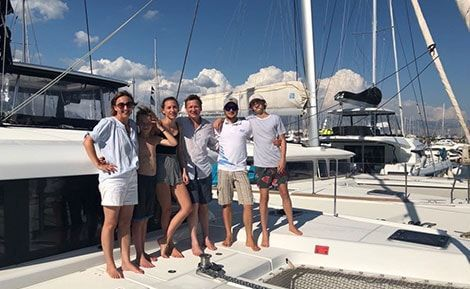 Europe Yachts Charter Passangers