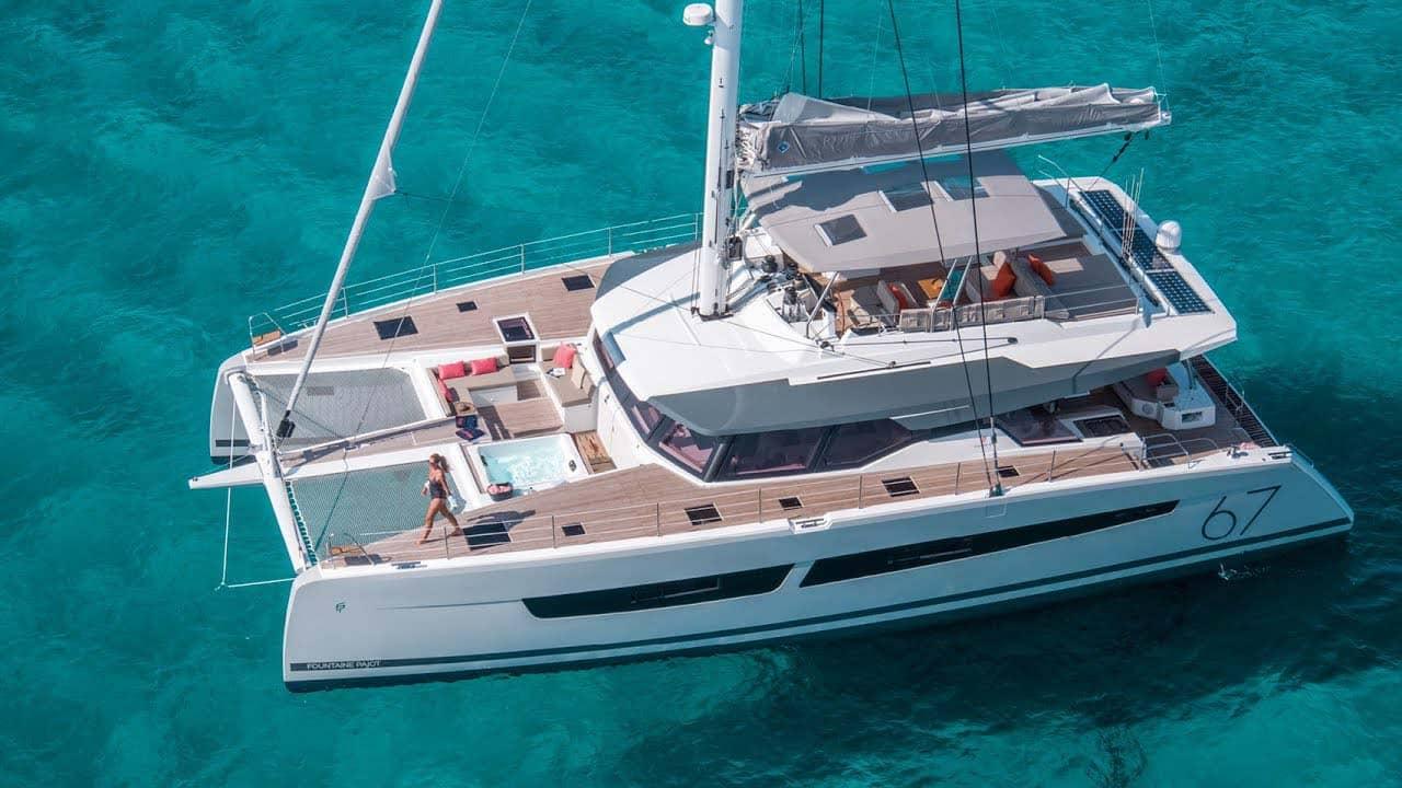 Catamara Greece Charter Main Slider