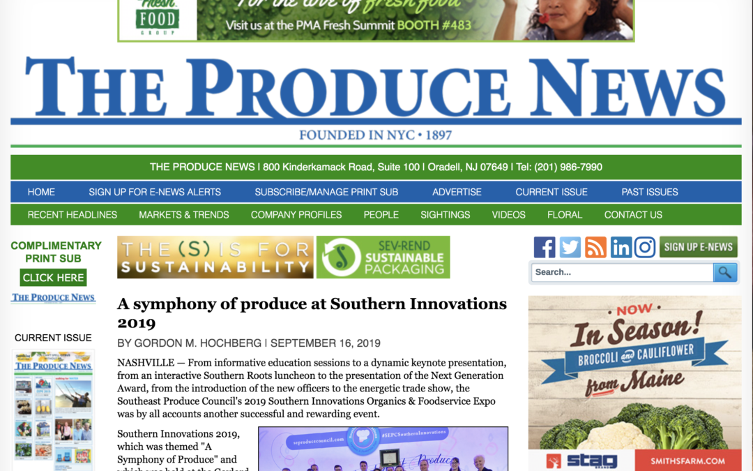 A symphony of produce at Southern Innovations 2019 – The Produce News