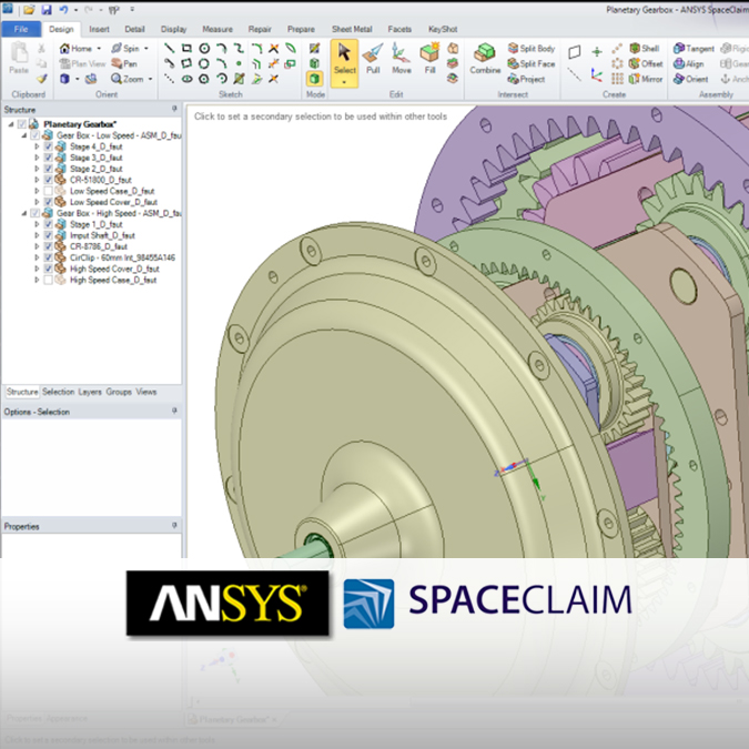 ANSYS-SpaceClaim