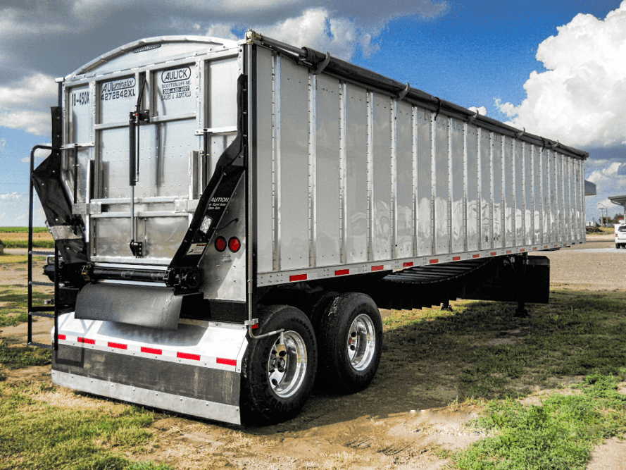Aulick Auluminator bulk commodity Trailers