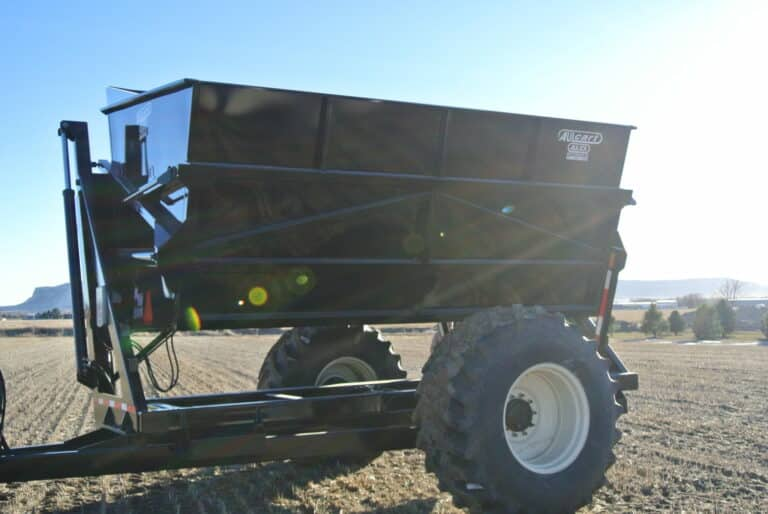 The Aulcart eliminates the need for trucks in the field.