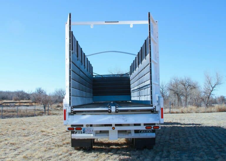 Aulick Chain Floor Trailer with remote doors